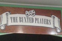 Backstage pre and post production Buxted Players
